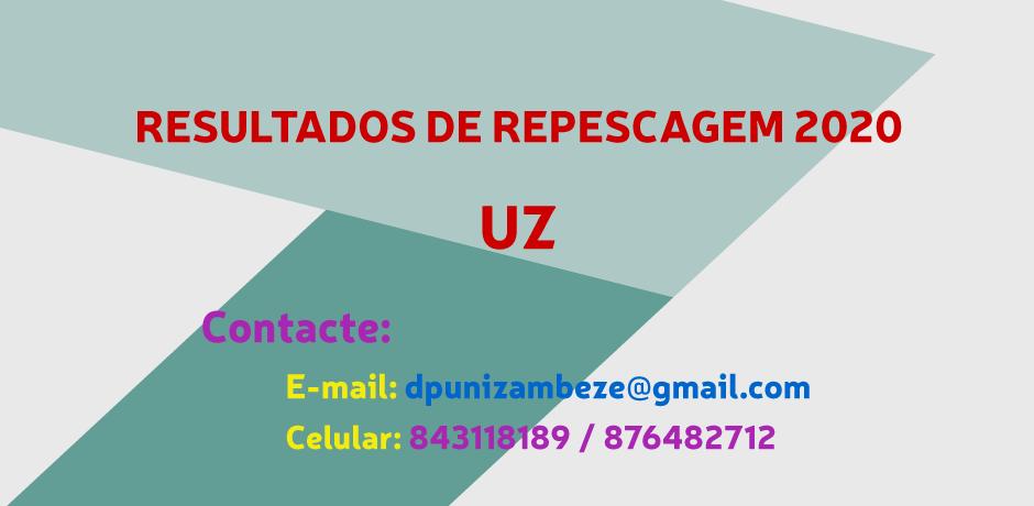 Resultados de Repescagem UZ